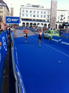 Sprint finish. I'm pretty sure I overhauled that guy on the line.